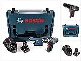 Bosch GSB 12V-15 - Taladro percutor inalámbrico (12 V, 30 Nm, L-Boxx, batería de 6,0 Ah y cargador)