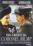 Vida Y Muerte Del Coronel Blimp [DVD]