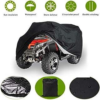 ATV Abdeckung,Wasserdicht Motorrad Abdeckung Dirt Bike Abdeckplane Hitzebeständig,Mehrere Größen