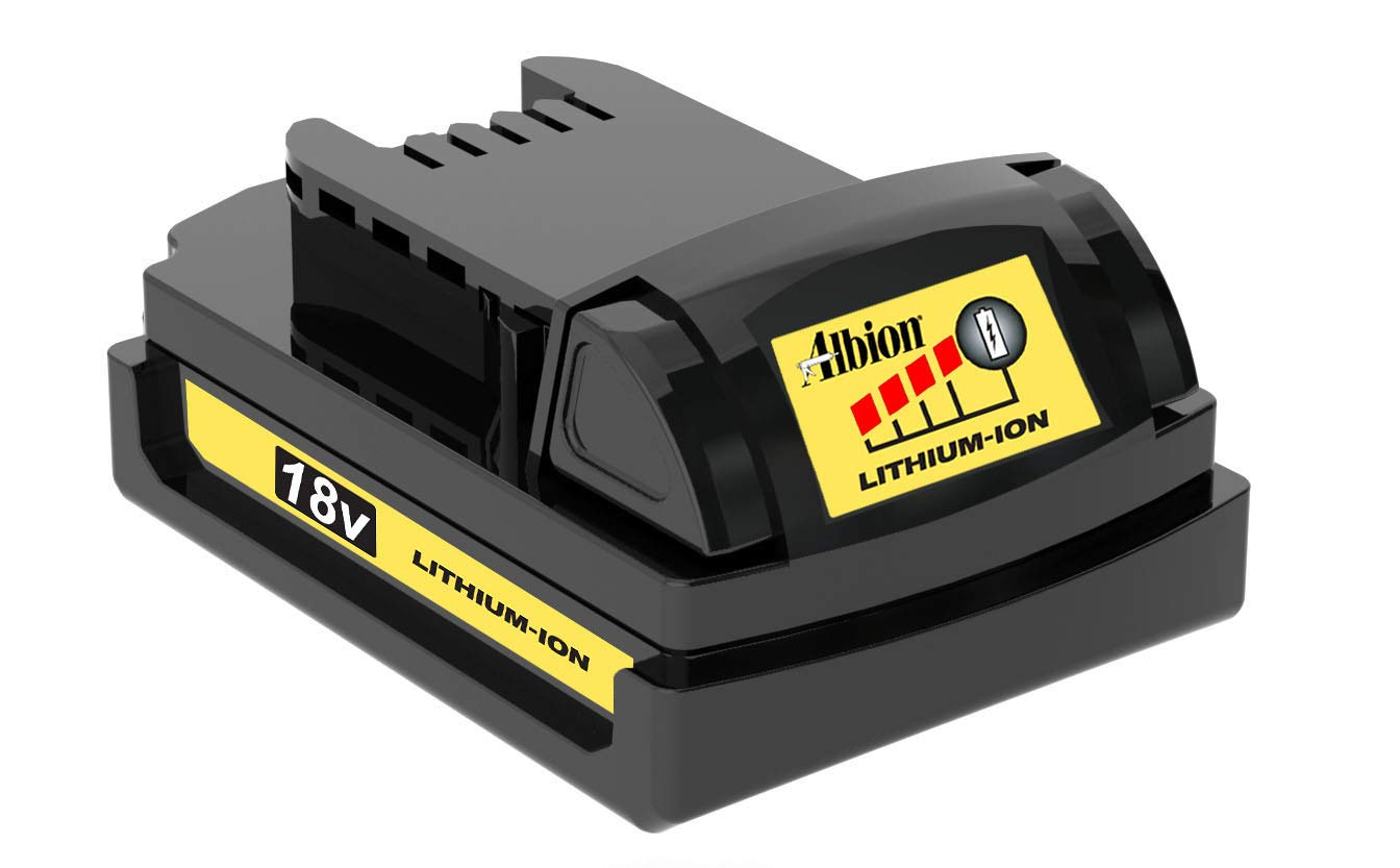 OUTLET SALE Albion Engineering Company 国内即発送 982-2 Compact Lithium-Ion 18V Battery