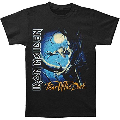 Tee Shack Iron Maiden Fear of The Dark Steve Harris Ufficiale Uomo Maglietta Unisex (Large)