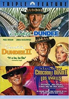 Crocodile Dundee Collection: (Crocodile Dundee / Crocodile Dundee II / Crocodile Dundee in Los Angeles)