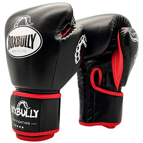 FitTrek Boxhandschuhe für Kinder Damen Herren MMA, Muay Thai, Kickboxen, Boxsack, Sandsack, Sparring, Kampfsport, Punching Handschuhe - Boxing Mittens Boxing Gloves für Mädchen Männer Frauen Jungs