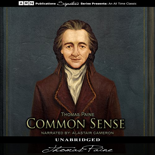 Common Sense Audiobook By Thomas Paine cover art