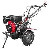Weima WM1100BE-6 DIFF 9 PS 418 CCM Ancho de fresado 135 cm Marchas 4 hacia adelante, 2 cierres de eje hacia atrás, motocultor diésel para jardinería