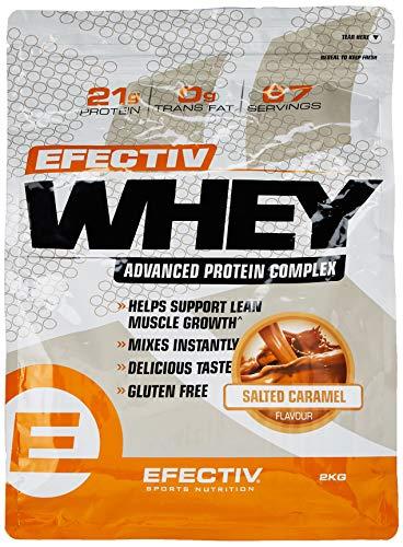 Efectiv Sports Nutrition Efectiv Whey Salted Caramel, 2 KG