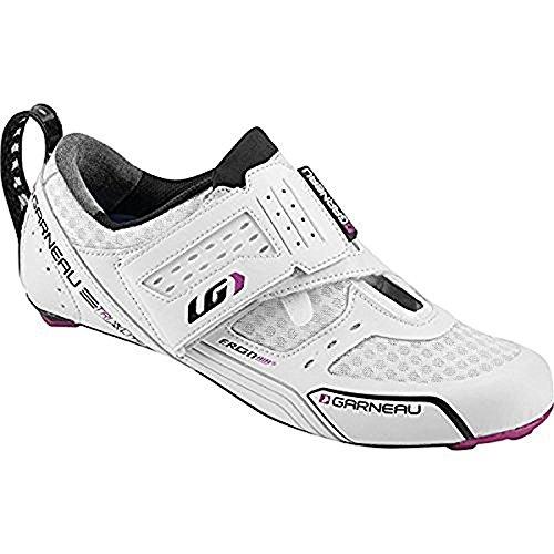 Louis Garneau 2015/16 Women's Tri X-Lite Triathlon Cycling Shoes - 1487216 (White - 36)