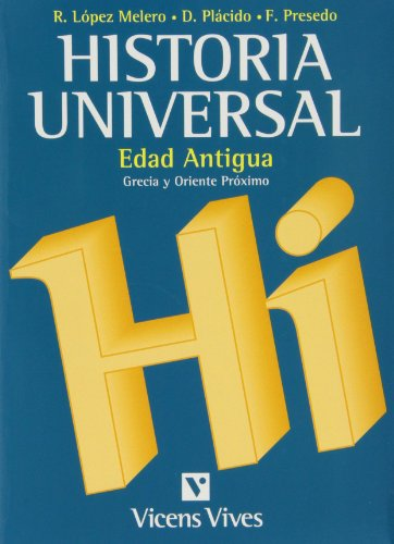 Historia Universal Edad Antigua Volumen 1. Universidad