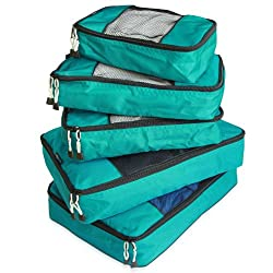 772033668 Packing cubes are a great travel gift idea for the traveler who likes to  stay organized. These travel cubes make it easy to compartmentalize all  your ...