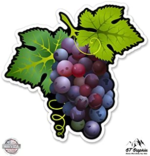 Purple Grapes - Vinyl Sticker Waterproof Decal