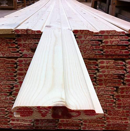 Pine Timber T&G Shiplap Cladding 110 X 20mm 2.4MTR X 10 Lengths