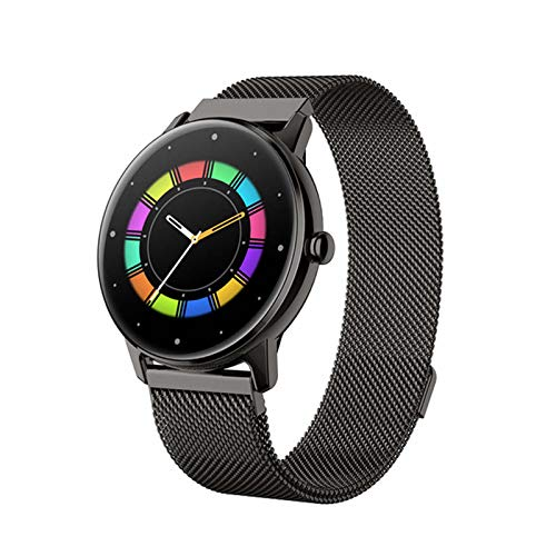 DKM Hermoso Regalo Mujer Reloj Inteligente Ritmo Cardíaco Monitor Deportes Fitness Rastreador Deportivo Pulsera para Android iOS,C