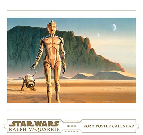 McQuarrie, R: Star Wars Art: Ralph McQuarrie 2020 Poster Cal