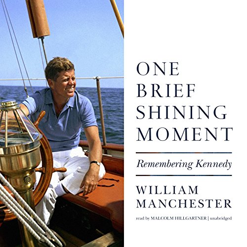 One Brief Shining Moment audiobook cover art