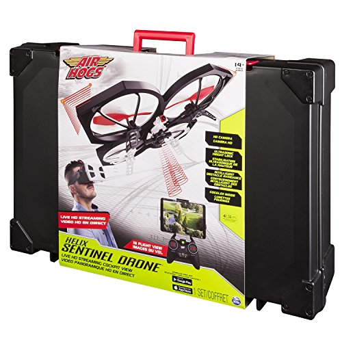 Air Hogs Spin Master 6027611 Helix Sentinal Drone – livestream Video