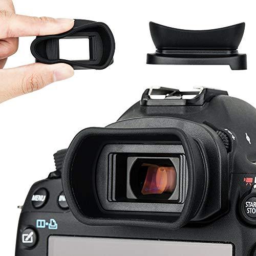 Kiwifotos Augenmuschel Okular für Canon EOS 5D Mark IV, 5D Mark III, 5DS, 5DS R, 1D X Mark II, 1D X, 1Ds Mark III, 1D Mark IV, 1D Mark III, 7D Mark II, 7D Sucher ersetzt Canon Eg Eye Cup 商品名称