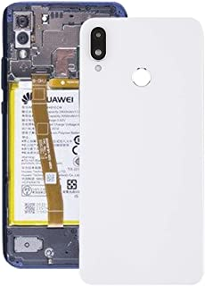 Battery cover JRC Back Cover with Camera Lens (New) for Huawei Nova 3i(Black) Mobile phone accessories (Color : White)
