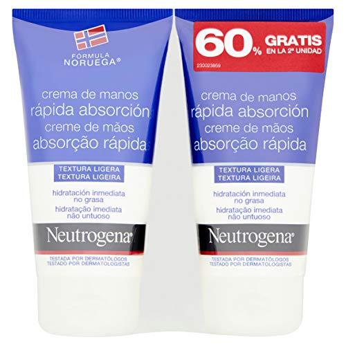 Neutrogena Crema para manos de rápida absorción 150 ml