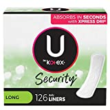 Best Panty Liners - U by Kotex Security Lightdays Panty Liners, Light Review