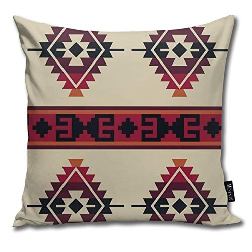 TopBABYYING Throw Pillow Covers Modern Style Daryl Dixon Poncho Decorative Pillow Cases Home Decor Square 18 x 18 Inch Pillowcase for Bench Couch Sofa Living Room All Seasons