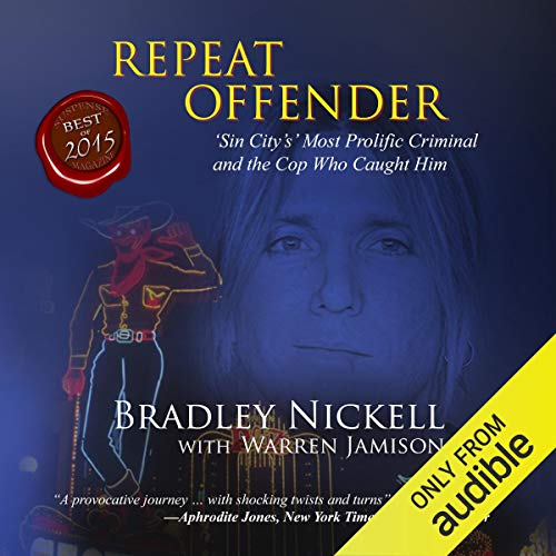 Repeat Offender audiobook cover art