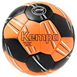 Kempa Spectrum Synergy Primo Handball Mixte, Orange Fluo/Noir, Taille 2 EU