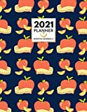 2021 Planner | Apples Tape measure Pattern: Weekly & Monthly Unique Gift For Appointment, Organizer,...
