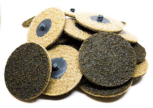 """3"""" Roloc Surface Conditioning Quick Change Sanding Discs Coarse - 25 Pack"""