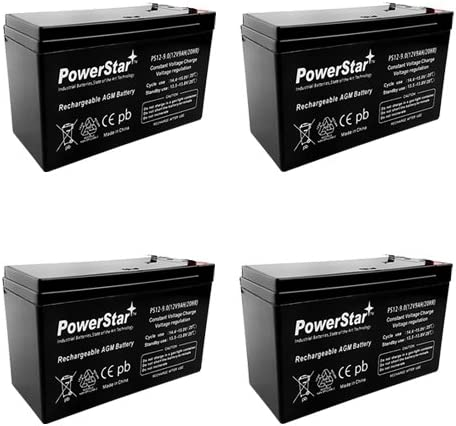 Shipping included New item PowerStar-12V 9AH SLA Battery for Mod Pocket Rocket Razor