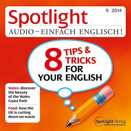 Spotlight Audio - 8 Tips and Tricks for your English. 9/2014 Titelbild