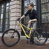 JXJ Mountainbike 26 Zoll 24/27 Gang Schaltung Aluminium Vollfederung Erwachsenenfahrrad...