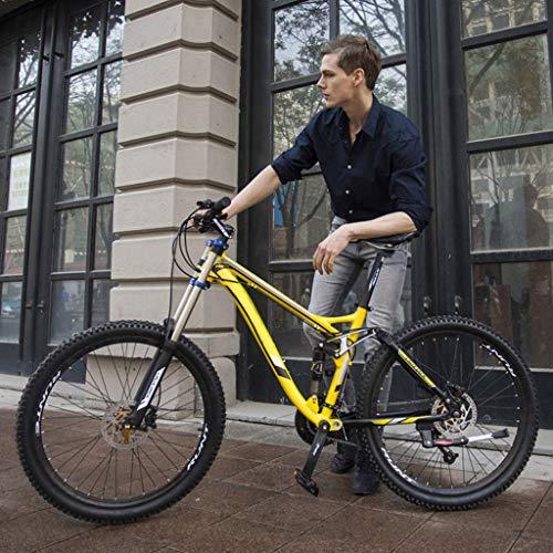 JXJ Mountainbike 26 Zoll 24/27 Gang Schaltung Aluminium Vollfederung Erwachsenenfahrrad Jugendfahrrad Für Herren Und Damen