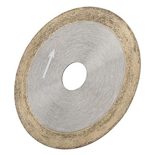 Nannigr Rueda de Corte, Material: Diamante Disco de Corte de Diamante Especificación: 100 mm / 120 mm para Piedras Preciosas de Jade, ágata, Cristal, cerámica, Vidrio, etc.(Sintering 100 * 16 * 1.0)