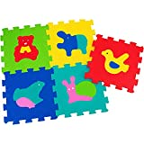 Globo Juguetes Globo–504932x 32cm Vitamina _ G Animales Puzzle Azulejos (5Piezas)