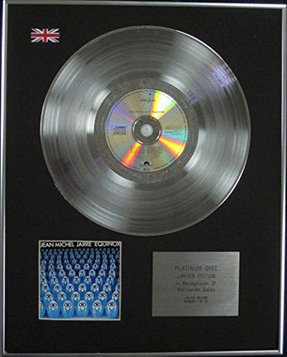 Jean Michel Jarre – Edition Limitée – CD Platine disque – Equinoxe – 1
