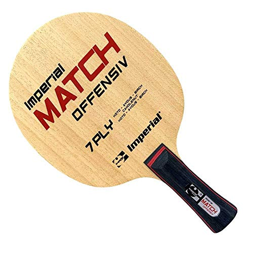 Imperial Match Offensiv (gerade) | - Tischtennis Holz für den Wettkampf | TT-Spezial - Schütt Tischtennis