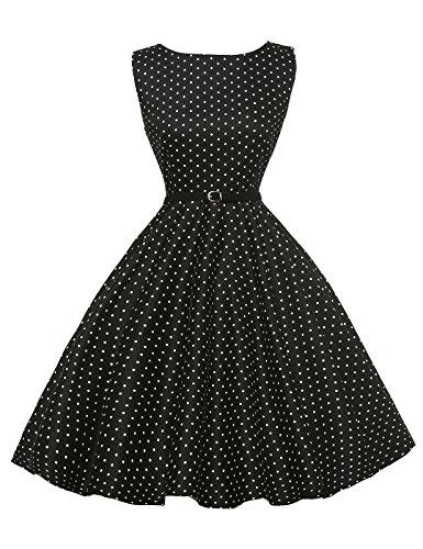 GRACE KARIN Abito da sposa partito dei vestiti Hepburn stile pannello esterno pieno delle...