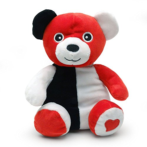 Smarty Bear - Baby s 1st Black, White and Red Teddy Plush