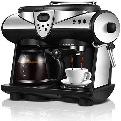 Cafetera, pequeña cafetera para uso doméstico, dos sabores en uno, 1-12 tazas a la vez YXF99