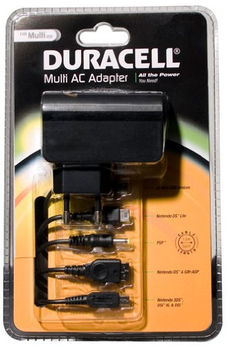 Vidis Duracell Multi AC-adapter oplader (zwart)