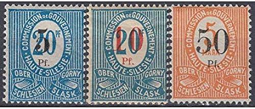 Goldhahn Oberschlesien Nr. 10-12 Briefmarken für Sammler