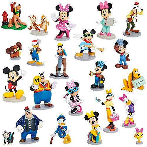 Disney Mickey Mouse and Friends Mega Figurine Set