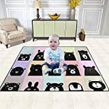 Ducan Lincoln Area Rug Teppich Animal Posters Kids Area Rug