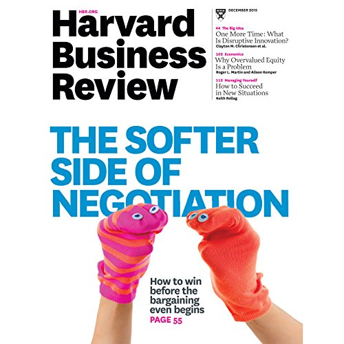 Harvard Business Review, December 2015 audiobook cover art