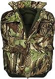 normani Wattierte Outdoor Weste mit vielen Taschen, gefüttert Farbe Hunting Camo Größe XL