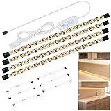Anpro Tiras de Luces,Luz del Armario,Tiras 240 Leds,2M,Luz Pegado con USB para...