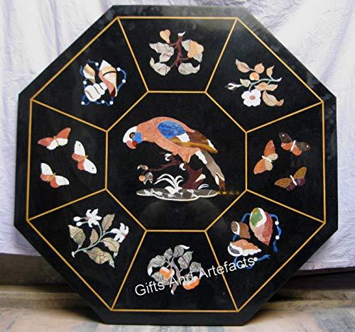Cottage Handicrafts - Mesa de conferencia, color negro