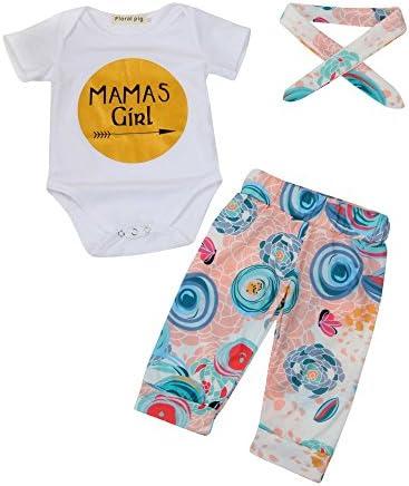 feiXIANG Bebé recién Nacido Ropa Infantil Carta Traje Bata + ...