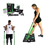 BodyBoss Home Gym 2.0 by 1loop - Portable Gym Workout Package + Extra Set of Resistance Bands (4) -...