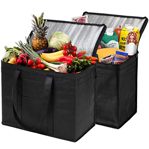 Our #4 Pick is the NZ Home Insulated Reusable Grocery Bags